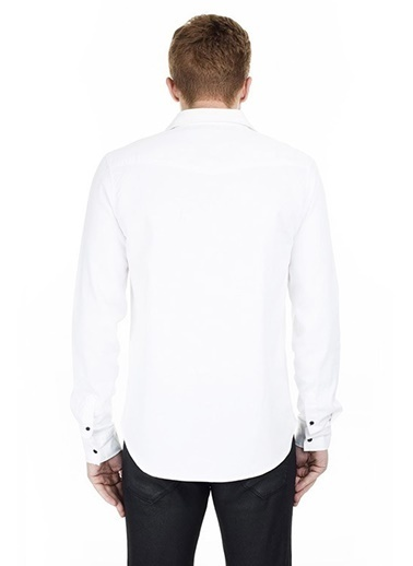 Five Pocket Five Pocket Erkek Gömlek 5020-H930-WESTERN 5020-H930-WESTERN015 Beyaz
